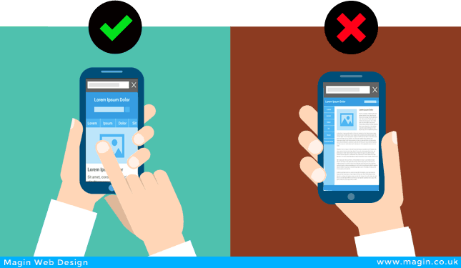 mobile friendly vs desktop