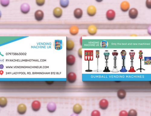 Candy Business Cards