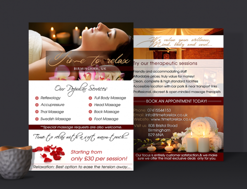Massage Salon Leaflets