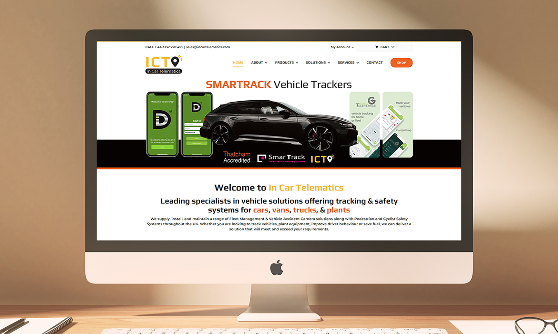 Vehicle Solutions Website Design