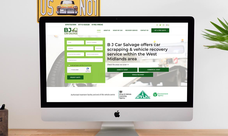Car Salvage Website
